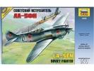 Zvezda Lavotchkin LA-5 FN Soviet Fighter (1:72)