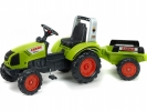 Šlapací traktor Claas Arion 430 s vlečkou
