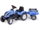 Šlapací traktor Landini Powermondial 110 s vlečkou
