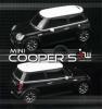 iWaver Mini Cooper S s pruhmi black